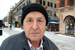 Inge Bergqvist, 80 år, pensionär, Sundsvall: