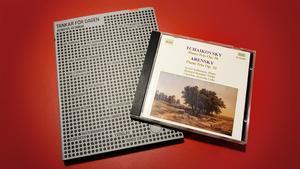 """Boken """"Tankar för dagen"""" och Tjajkovskijs Pianotrio."""