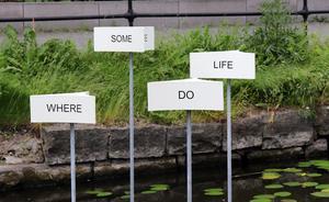 I Frode Gundorf Nielsens verk har ord ur meningen