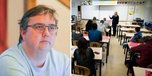 Lars Thorin, chef för barn- kultur- och fritidsförvaltningen.  Fotomontage: Ingmar Reslegård/Genrebild från TT