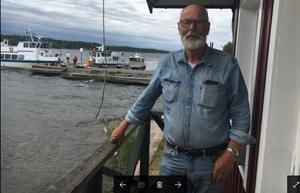 Rudolf Lundin, ägare till Furusunds gästhamn.