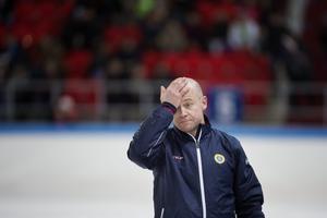 Jonas Claesson lyckades inte leda Sverige till ett VM-guld. Foto: Jessica Gow/TT