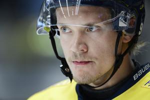 HV71 och Didrik Strömberg fick med sig en poäng från tisdagskvällens bortamatch mot serieledande Luleå. Bilden är från en tidigare match.
