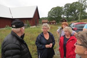 Vid Fräcksta gård. Foto: Max Möllerfält