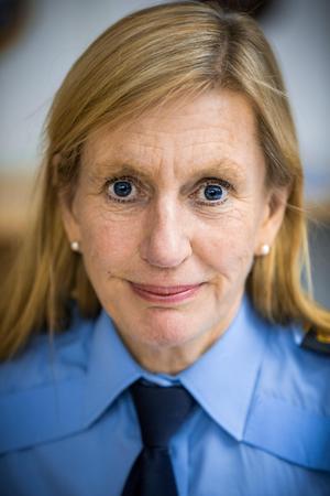 Carin Götblad, regionpolischef i region Mitt.