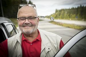 Stig-Björn Sundell är M:s vägombud i Jämtlands län.