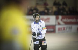 Falu BS-fostrade Victor Lundberg är en av de spelare som får delta i fyrnationsturneringen i Åby i helgen.