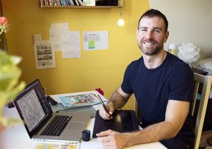 Kenneth Larsen från Trondheim ligger bakom nya serien