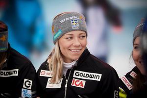 Frida Hansdotter, 27 år, VM-medaljör i slalom, Fagersta: