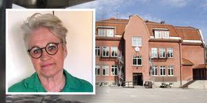 Rektorn Lena Ytterström berättar att Heliås i Svartvik är den närmsta skolan för flera barnfamiljer.