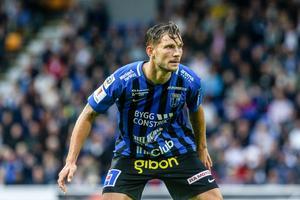 Robert Åhman Persson gjorde 74 matcher i ÖSK och noterades för fem mål. Foto: Staffan Claesson/TT
