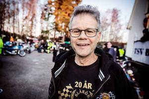 Jan Zidén är kassör vid TSV Blårök.