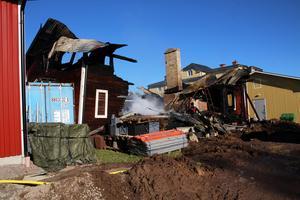 I oktober 2015 brann det i Franzéns lager i Krylbo i Avesta.