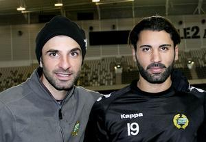 Kennedy Bakircioglu och Stefan Batan är på nytt involverade i Assyriska. Bakircioglu hjälper till med att scouta spelare och Batan är ny sportchef. Foto: Paola N Andersson/LT-arkiv