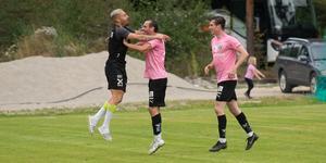 Emir Ragipovic kunde knappt tro sina ögon efter sitt makalösa 4-0-mål.