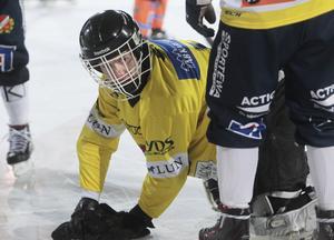 Max Bergström gjorde vad han kunde mot AIK.