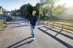 Christoffer Carlsson är doktor i kriminologi. Senast känd från SVT:s Veckans brott. Foto: Emelie Asplund