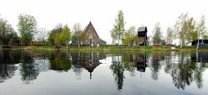 Centrala delar av Torsång i Borlänge kommun. Orten antas ha fått sitt namn av den manlige asaguden Tor. Foto: Kjell Jansson