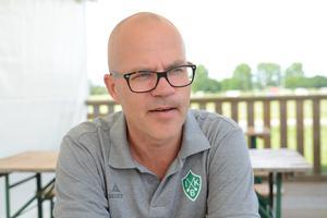 Brages klubbchef, Magnus Olsson.