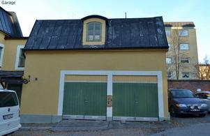 Även detta garage ska ha uppförts före 1930. Foto: Östersunds kommun