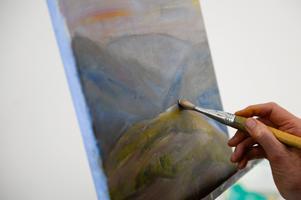 Kvinnliga konstnärer är underrepresenterade på europeiska konstgallerier. Arkivbild.Foto: Fanni Olin Dahl/TT
