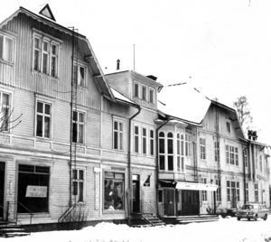 Järnvägshotellet i Bräcke byggdes på 1880-talet.