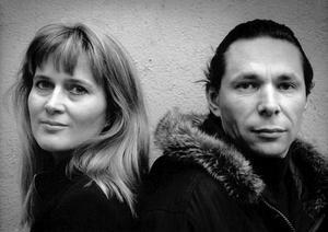 Katarina Frostenson och Jean-Claude Arnault 1989. Foto: Maj-Britt Rehnström / SvD / TT