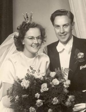 Elsie och Tage Larsson.