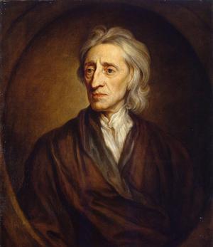 Den engelske filosofen John Locke formulerade de principer som varit vägledande för det liberala samhällets framväxt. Målning av Godfrey Kneller från 1697.