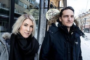 Magnus Borg, verksamhetsledare på Peace & Love, och Anna Norman, koordinator på Peace & Love.