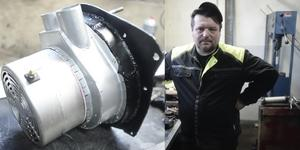Adrian Janczyk bygger en elbil.