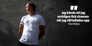 Victor Olofsson kan se tillbaka mot ett bra första år som AHL/NHL-spelare.