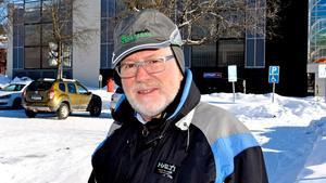 Lars Abersten, 76 år, pensionär, Bosvedjan: