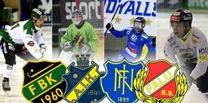 Frillesås, AIK, Nässjö och Falu BS gör upp i elitseriekvalet. Bandypuls livesänder ni matcher.