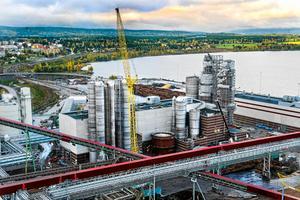 Östrand-fabriken.