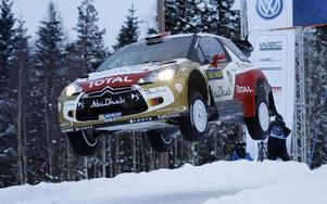 Rallymästaren Sebastien Loeb har en hel del att köra in.