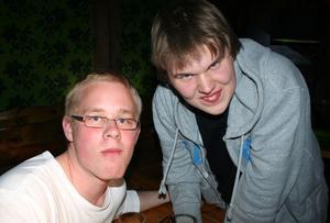 Konrad. Johan och Björn