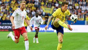 Victor Nilsson Lindelöf.Bild: Björn Larsson Rosvall / TT