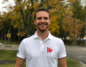 Magnus Lampert är ny klubbchef i HuFF. Foto: Hudiksvalls FF