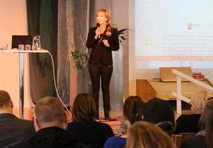 Folkhälsostrategen Bea Scherp, som är chef för Sydnärkes folkhälsoteam, var en av de ansvariga för höstens halvdagskonferens i Åbytorp.
