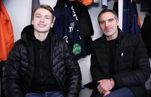 Oskar och Andreas Westh i ett omklädningsrum byggt med svett och drömmar – om en egen hall och om ett första SM-guld sedan 1956.