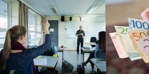 Pengar tillbaka till lärare som förlorade 3 500 kronor i månaden  i nya fördelningen av Lärarlönelyftet. Foto: Berit Roald och Henrik Montgomery, TT .