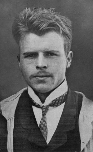 Hermann Rorschach 1910. Foto: Okänd
