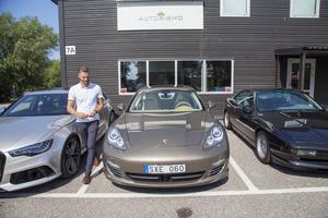 Mattias Claus bilfirma har fått en rivstart. Enligt den senaste årsredovisningen omsatte bolaget 28 miljoner kronor.
