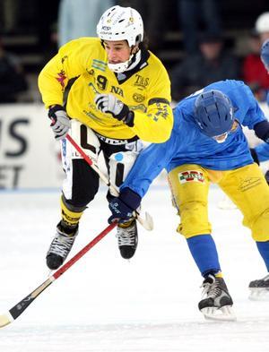 Robin Sundin i moderklubben ÖSK 2005. Bild: Lennart Lundkvist, arkiv