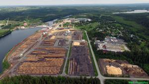 Sågverket i Hissmofors får leva vidare även efter fusionen med Norra Skogsägarna. Foto: Tina Stafrén.