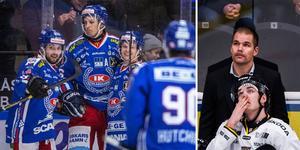 IKO har vunnit de sex senaste hemmamatcherna mot AIK. Gästernas tränare Tomas Mitell tror dock inte på traditionens kraft i den här matchserien. Foto: Bildbyrån