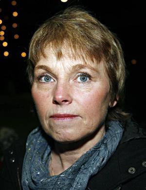Rose-Marie Åhlstrand, 51 år, operationsmontör, Hedesunda–Ja, det tror jag. Jag tycker att hon är bra.