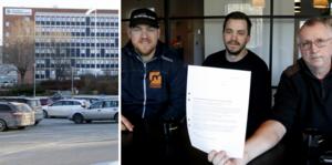Per Sander, Ola Hedblad och Peter Larsson har lagt ned ett stort arbete och engagemang den senast tiden för bibehållen vårdberedskap nattetid vid Lindesbergs lasarett.