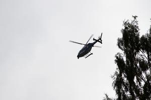 Robert Strid tycker samverkan med alla involverade i insatsen fungerat väl – bland annat kallades polishelikopter in vid evakueringarna.
